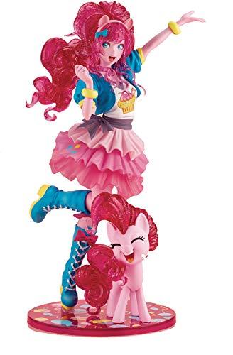 Kotobukiya My Little Pony: Pinkie Pie Limited Edition Bishoujo Statue, Multicolor