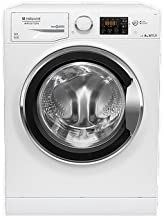 Hotpoint RPG 825 DX IT Independiente Carga frontal 8kg 1200RPM A+++ Blanco - Lavadora (Independiente, Carga frontal, Blanco, Izquierda, Plata, 62 L)