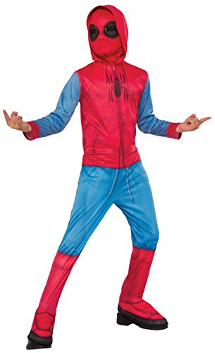 Rubies- Spiderman Disfraz para niños, Multicolor, L (7-8 años) (Rubie