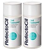 2er Refectocil Tint Remover Farbflecken Entferner für Augenbrauen und Wimpernfarbe 150 ml