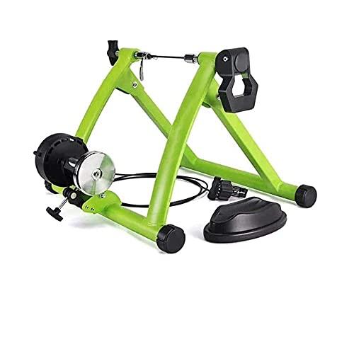 Fluid Bike Trainer Stand Entrenador de bicicletas ciclismo entrenamiento rodillo plegable interior...