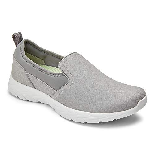 Vionic Women's Brisk Eva Slip On Walking Sneaker Slate Grey Medium 5 US