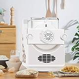 TTLIFE Máquina para Pasta 9 + 3 máquina de Fideos eléctrica 1 Libra máquina de Fideos eléctrica de Gran Capacidad Puede Hacer Fideos en 3 Minutos
