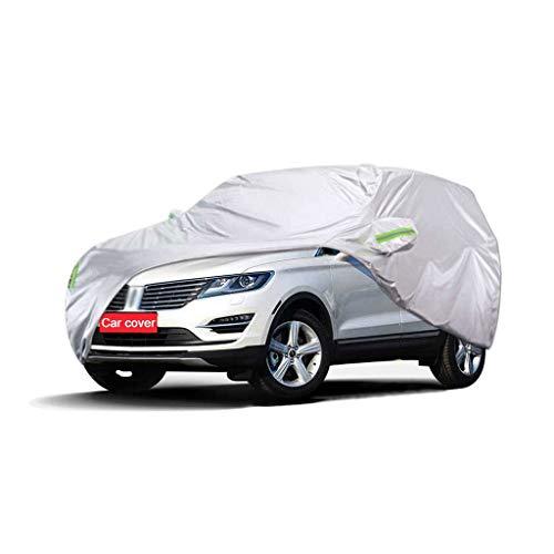 Couverture de voiture Compatible avec Lincoln MKX Car Cover SUV épais Tissu Oxford Protection contre le soleil chaud antipluie Car Cover Couverture (Size : 2018)