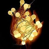 Bola de cereza Cadena de hadas Decoración Luz Boda Guirnalda de Navidad Decoración Cadena de luz usb 10m100 leds