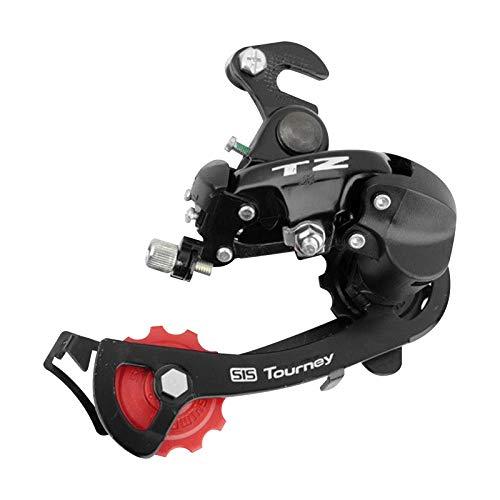 TZ-50 - Desviador de bicicleta trasero Mech Gear 6 7 velocidades para ciclismo MTB bicicleta transmisión (tipo Hook)