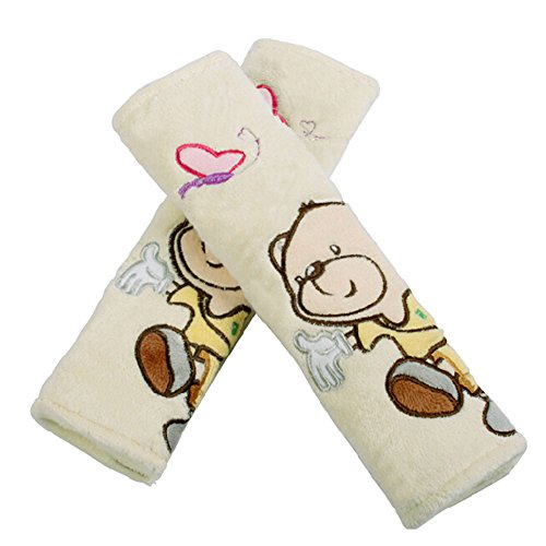 Ours une paire de bébé Kid Siège auto Sangle Coque bambins Infant Poussette Sangle Coque