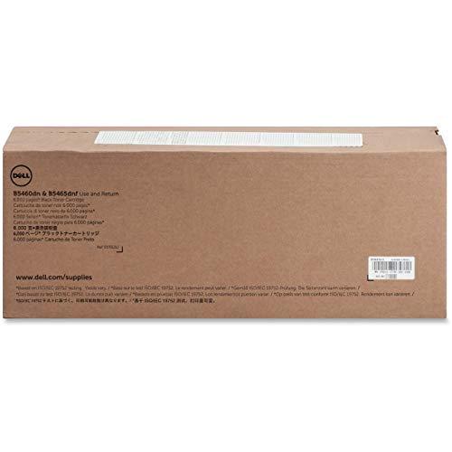 Dell T6J1J Toner Cartridge B5460dn/B5465dnf Laser Printers, Black