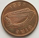 1968 Lucky Irish Penny -- Almost Uncirculated