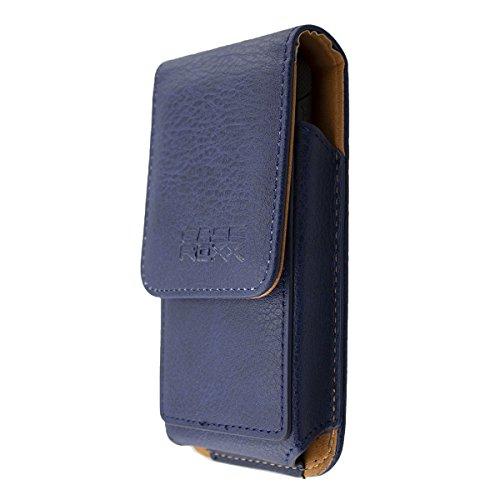 caseroxx Handy-Tasche Outdoor Tasche für Oukitel K4000 Plus aus Echtleder, Handyhülle für Gürtel in schwarz