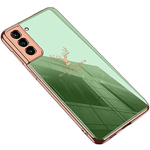 Galaxy S21 Ultra 5G ケース/カバー メッキ TPU ソフト カバー ケース/カバー サムスン ギャラクシー S21ウルトラ ソフトケースおしゃ れ アンドロイド スマフォ スマホ スマートフォンケース/カバー[Galaxy S21 Ul