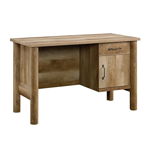 Sauder Boone Mountain Desk, Craftsman Oak finish