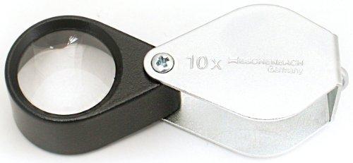 ESCHENBACH OPTIK GMBH & CO. 117610 Einschlaglupe 10fach Vergr. Linsen-D.23mm ESCHENBACH Ms.-Gehäuse