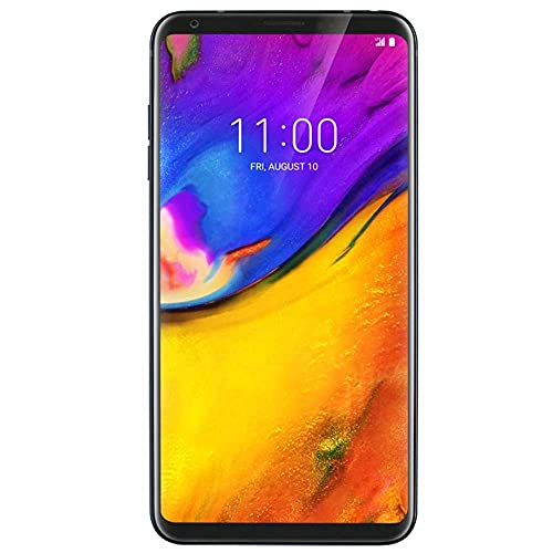 LG V35 ThinQ V35 64GB Unlocked GSM Phone w  Dual 16MP Camera - Aurora Black