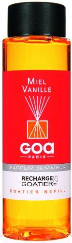 Goa 25925 Diffuseur Recharge Goatier Miel Vanille 250 ML