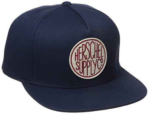 Herschel Supply Co. Herren Scope Stone Wash WSH Indigo - Blau - Einheitsgröße
