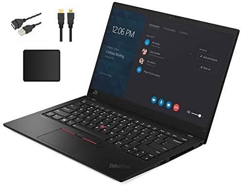 Lenovo ThinkPad X1 Carbon 14' FHD Anti-Glare WVA IPS Laptop | Intel Quad Core i5-8265U Processor | 16GB DDR4 | 1TB SSD | Backlit Keyboard | Fingerprint Reader | Windows 10 | Bundle Woov Accessory