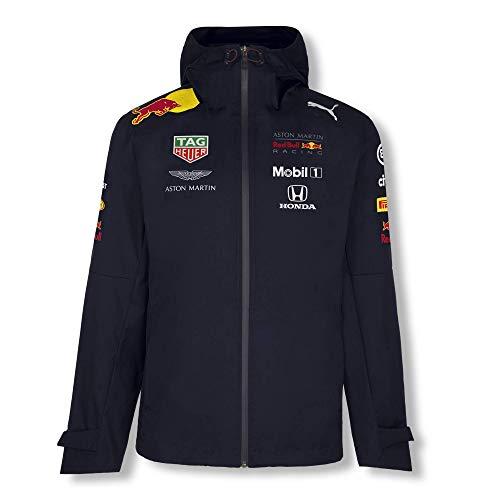 Red Bull Racing Official Teamline Rain Coat, Blau Herren X-Large Regenmantel, Aston Martin Formula 1 Team Original Bekleidung & Merchandise