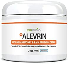 Organic Pain Relief Cream 2oz Topical Analgesic Anti Inflammatory For Carpal Tunnel Arthritis Support Nerve Shoulder Lower Back Neck Knee Joint Muscle Cramp Reliever ARNICA TURMERIC MSM BOSWELLIA ALOE
