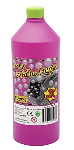 Forum Novelties 61073 1 quart Bubble Juice Party Supplies, One Size