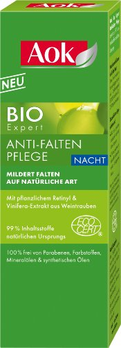 Aok Gesichtspflege Bio Expert Anti-Falten Pflege Nacht, 1er Pack (1 x 50 ml)