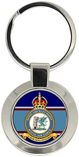 Giftshop UK Heim Flugzeug Depot, Raf Schlüsselanhänger