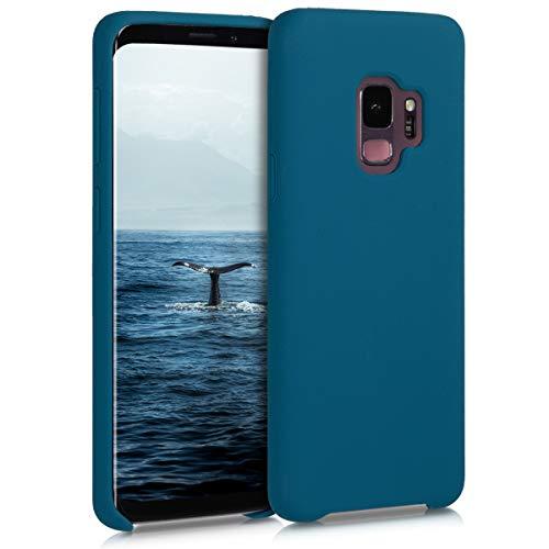 kwmobile Hülle für Samsung Galaxy S9 - Hülle Handyhülle gummiert - Handy Hülle in Petrol matt