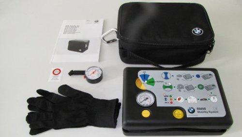 BMW, kit portatile di gonfiaggio pneumatici con compressore, accessorio originale, codice prodotto: 71 10 2 333 674