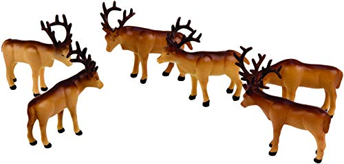 Lionel Trains - The Polar Express Caribou Pack, O Gauge