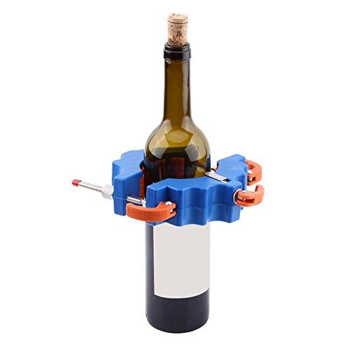 AYNEFY Glasschneider,Glas Öl-Glasschneider Recycling Glasflaschen Cutter Flaschenschneiden Art Craft Making Tool(Blau)