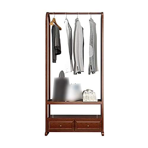 LM-Coat rack XINGLL Percheros Pie Perchero, Portátil Organizador Almacenamiento Zapatos Armario, Ropa, Zapatos, Sombrero, Bolso, Almacenamiento Colgar Pasillo, Dormitorio, Entrada