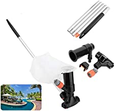 Pool Jet Vacuum Cleaner, ANNCARY Swimming Pool Pond Fountain Underwater Cleaner, Portable Cleaning Tool for Above Ground P...