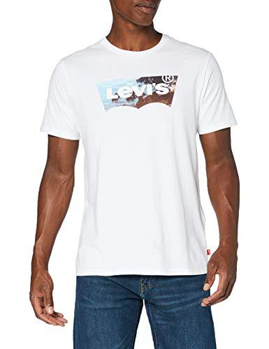 Levi's Housemark Graphic Tee T-Shirt, Ssnl Hm2 White, XS Uomo