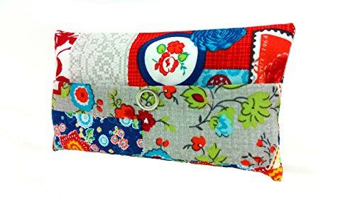 Taschentücher Tasche Patchwork Design Bunt Adventskalender Befüllung Wichtelgeschenk Mitbringsel Give away Mitarbeiter Weihnachten