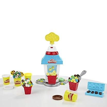 Play-Doh Popcornmaschine mit 6 Dosen Play-Doh Knete, ab 3 Jahren 12