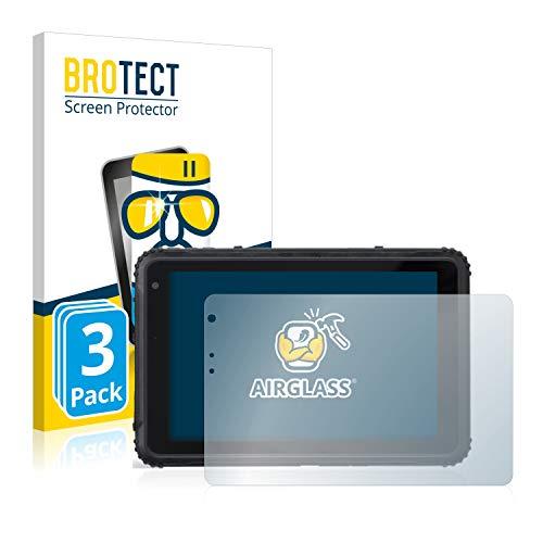 BROTECT Panzerglas Schutzfolie kompatibel mit Caterpillar Cat T20 Pro (3 Stück) - AirGlass, 9H Festigkeit, Anti-Fingerprint, HD-Clear