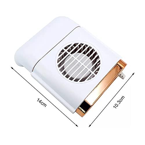Shutters Ventilador de Ventilador de Asiento del automóvil Radiador Interior del refrigerador de Coche silencioso con el enfriamiento del Asiento del vehículo de 3 velocidades Ajustable