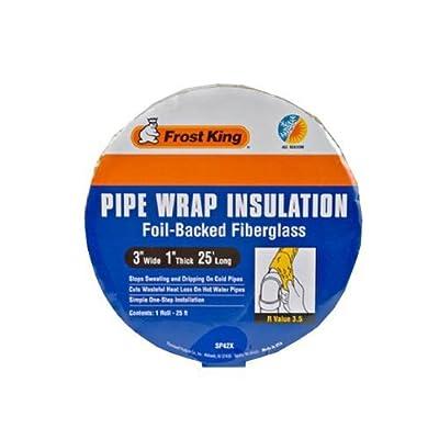 "Frost King Pipe Wrap 25 ' L X 3 "" W X 1 "" D"