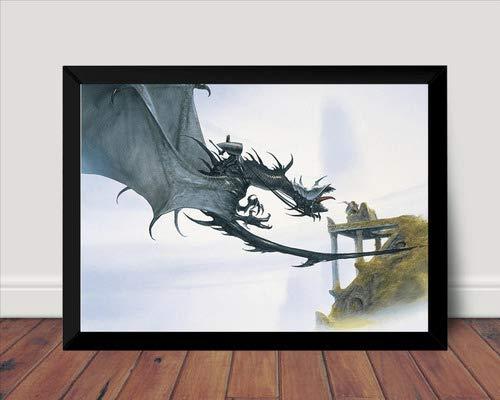 Quadro Decorativo John Howe Arte Fantasy Nazgul Tolkien