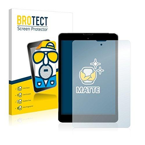 2X BROTECT Matt Bildschirmschutz Schutzfolie für Kiano Elegance 8 3G (matt - entspiegelt, Kratzfest, schmutzabweisend)
