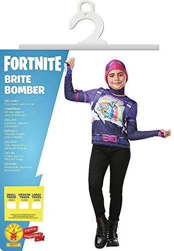 Fortnite - Disfraz Brite Bomber para niño, camiseta, 13-14 años ...