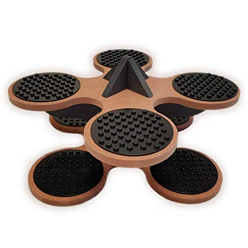 Base Ace Mini Kit Brown and Black, compatible with all leading construction toy building brick brands