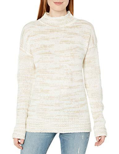 Calvin Klein suéter a Rayas con Cuello Redondo para Mujer