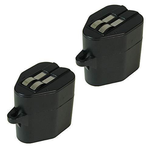 2X Trade-Shop Premium NI-MH Akku 6V / 2100mAh für Kärcher RoboCleaner Robo Cleaner RC-3000 RC-4000 Siemens VSR-8000 ersetzt 2.891-029.0 28910290