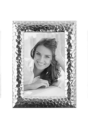 Fink Fotorahmen Cleo - versilbert zum Stellen und Hängen Format 13x18 cm