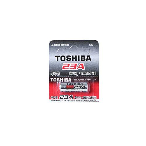 Batería de alcalina de TOSHIBA 23 A LRV08 12 V, 1 pieza
