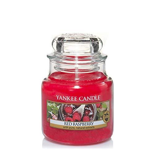 Yankee Candle Yankee candle duftkerze im glas klein | red raspberry | brenndauer bis zu 30 stunden