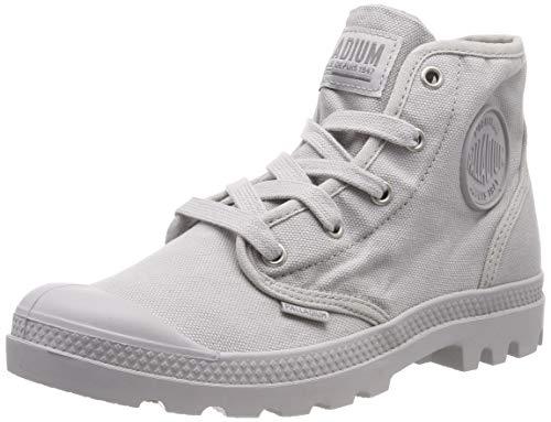 Palladium Damen Us Pampa Hi F Hohe Sneaker, Grau (Vapor 762), 39 EU