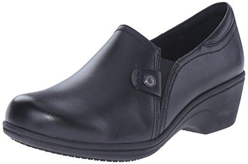 Aravon Women's Hope-ar Clogs & Mules, Black, 6.5