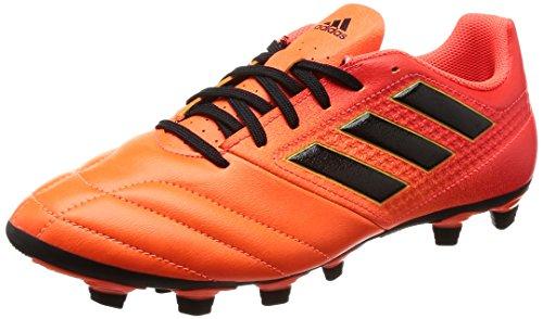 ADIDAS Ace 17.4 FxG S77094, Zapatillas de Fútbol Hombre, Multicolor (Narsol/Negbas/Rojsol), 44 EU